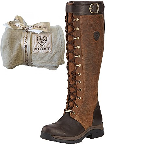Ariat Berwick GTX Ladies Tall Boots, Ebony, Free Gift