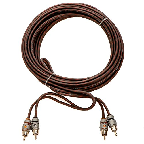 - Alphasonik 3 Feet Premium 2 Channel Hyper-Flex RCA Interconnect Signal Patch Audio Cable with X-Radial Twist Wire Technology 100% Oxygen Free Copper Element Certified for Multiple Applications FLEX-R3