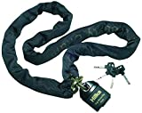 Hilka 71110010 1.1 m High Security Padlock and Chain