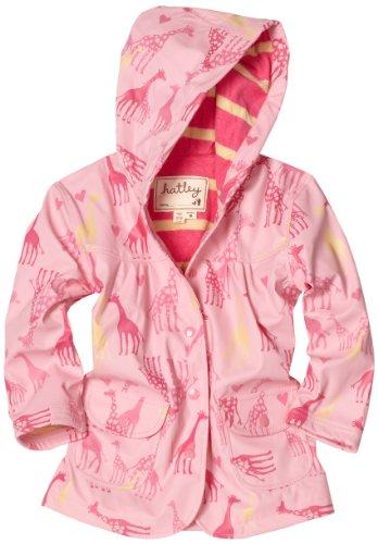 Hatley Little Girls'  Zoo Animals Children Rain Coat