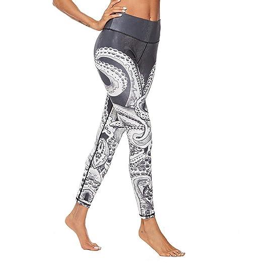 Wuxingqing Ms. Digital Print Leggings Hip Sports Yoga Pants ...