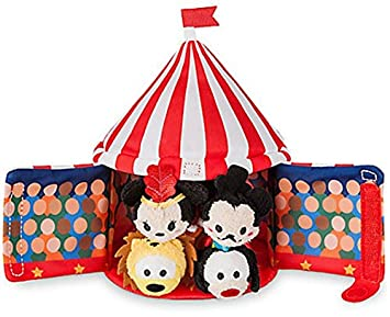 Disney Store Mickey Mouse Circus Tent Plush and 4 Micro 2.5u201d Tsum Tsums Set  sc 1 st  Amazon.com & Amazon.com: Disney Store Mickey Mouse Circus Tent Plush and 4 ...