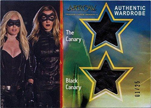 (Arrow Season 4 Costume Wardrobe Card DM5 Dual Canary & Black Canary)