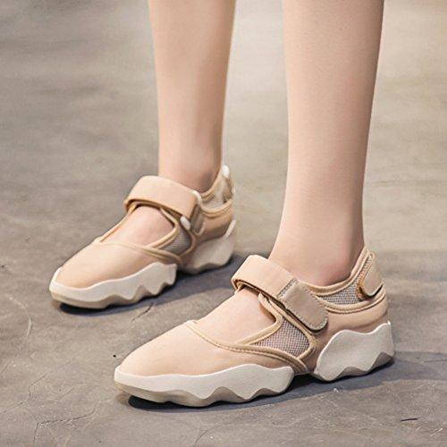35 Beige Sandales Chaussures Antidérapantes Femmes Sports 40 Mesh De Pour Respirantes rqwx8vCar