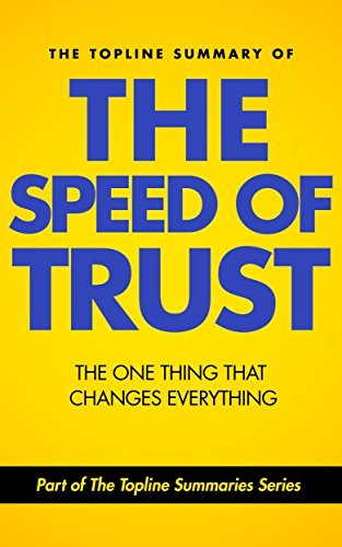 the speed of trust Questionsforliving is an active research project based on the philosophy that the quality of one's life is determined by the quality of one's questions.