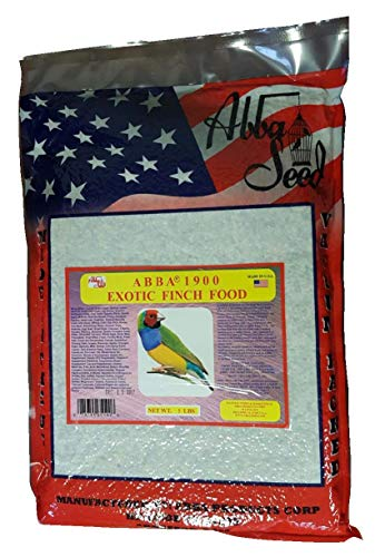 ABBA 1900 Bird Foods Exotic Finch Food 5lbs