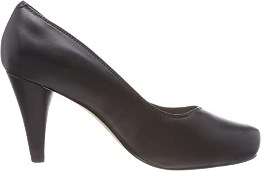 TALLA 41 EU. Clarks Dalia Rose, Zapatos de Tacón para Mujer