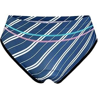 NOOYME Women Bike Underwear Gel 3D Padded Printed Design Bicycle Briefs Cycling Underwear Shorts - - Small