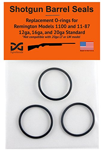 Shotgun Barrel Seals for Remington 1100 or 11-87 12ga, O-ring 3 (Remington Shotgun Parts)