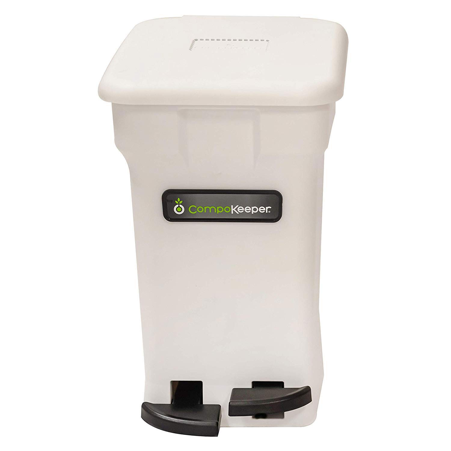 CompoKeeper Kitchen Compost Bin, 6 Gallon, Standard