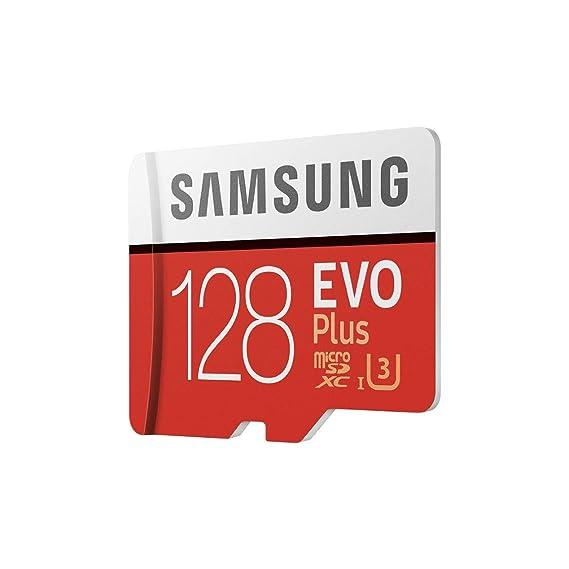 Samsung EVO Plus - Tarjeta de Memoria de 128 GB con Adaptador SD ...