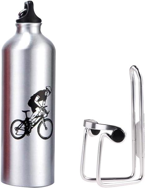 Soporte y cantimplora 750 ml de Lmeno, para bicicletas, de ...