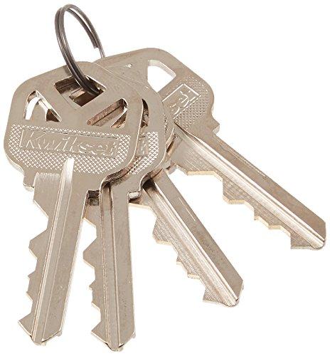 Kwikset 10119 4 CUT KEYS SmartKey Kit (Kwikset Smart Key Rekey Kit)
