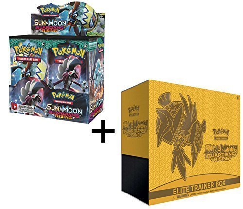 Pokemon Sun & Moon Guardians Rising Booster Box And Elite Trainer Combo! by Pokémon