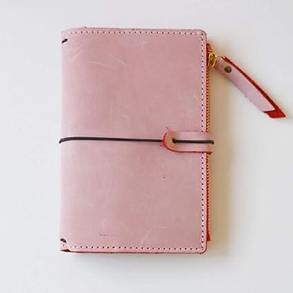 CXYBJB Cuaderno Cuaderno De Cuero Vintage Diario Diario De ...