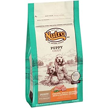 Nutro Natural Choice Chicken Whole Brown Rice And Oatmeal Dry Puppy