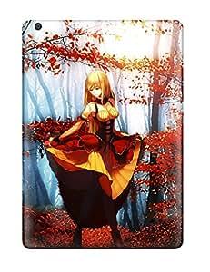 Best warriors redhead girl ribbon anime Anime Pop Culture Hard Plastic iPad Air cases 8437120K170950981