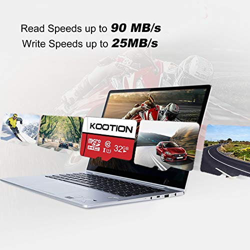 KOOTION 5 X 32GB Micro SD Card Class 10 Micro SDHC Card 32GB TF Card High-Speed Micro SD Cards 5 Pack Memory Card UHS-1, C10, U1