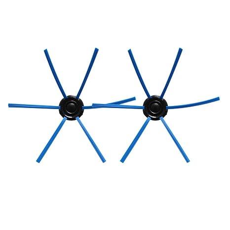Xinvision 1 Par de Cepillos Laterales de Repuesto para Philips FC8603/FC8700 /FC8705/