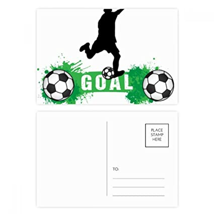 DIYthinker Pena del fútbol del fútbol texto de los deportes ...