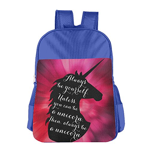 Price comparison product image Always Be A Unicorn 2017 New Style Printed Leisure Bag For Students