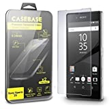 CaseBase® - SONY XPERIA Z5 - La Película Protectora para la Pantalla de Vidrio Templado - Paquete de DOS para el Sony Xperia Z5