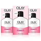 Olay Active Hydrating Beauty Moisturizing Lotion, Facial Moisturizer to Restore Dry Skin, 6.0 Ounce, 3 Count