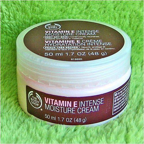 The Body Shop Vitamin E Intense Moisturizer, 1 7 ounces