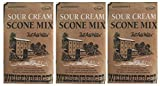 Weisenberger Mills Sour Cream Scone Mix- A Ky Proud Product 8 Oz Ea 3 Packs