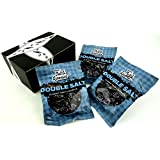 Gustaf's Classic Double Salt Dutch Licorice, 5.2 oz Bags in a Gift Box (Pack of 3)