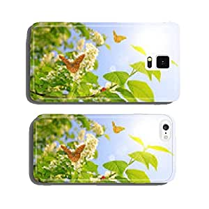 Spring blossoms tree with butterflies cell phone cover case iPhone6 Plus