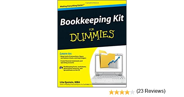 Amazon.com: Bookkeeping Kit For Dummies (9781118116456): Lita ...