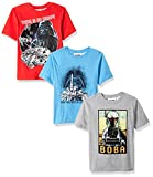 Star Wars Boys Lego 3 Pack Graphic T-Shirt