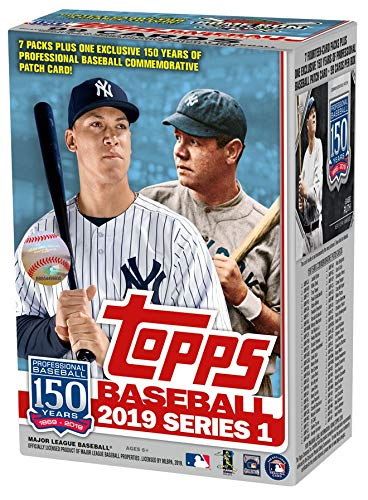 Topps 2019 Baseball Series 1 Trading Cards Relic Value Box Retail Edition