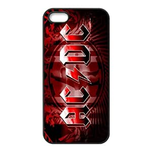 [MEIYING DIY CASE] For Apple Iphone 5 5S Cases -AC/DC Music Band-IKAI0447946