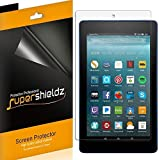 "Supershieldz [3-Pack] for All-New Fire HD 8 Tablet 8"" (8th/7th Generation - 2018/2017 Release) Screen Protector, High Definition Clear Shield - Lifetime Replacements Warranty"