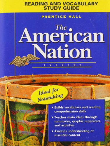 THE AMERICAN NATION READING AND VOCABULARY STUDY GUIDE 2005C