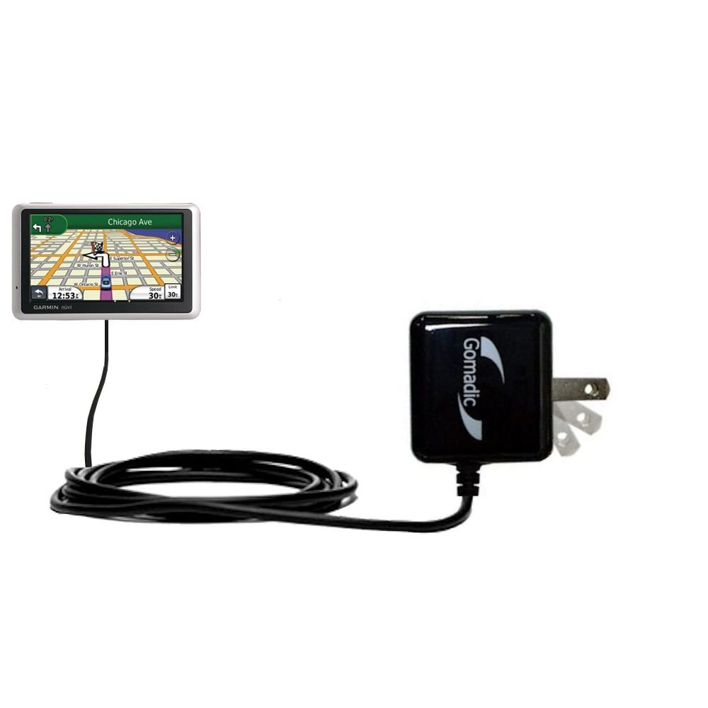 Amazon.com: Gomadic Intelligent Compact AC Home Wall Charger suitable for  the Garmin nuvi 2757 / 2797 LMT - High output power with a convenient, ...