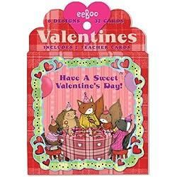 Animal Village Valentine Cards
