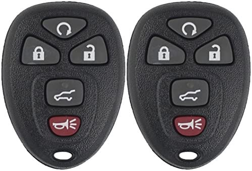 keyless2go new keyless entry remote start car key fob for selectkeyless2go new keyless entry remote start car key fob for select vehicles that use ouc60270 ouc60221 remote (2 pack), keyless entry systems amazon canada