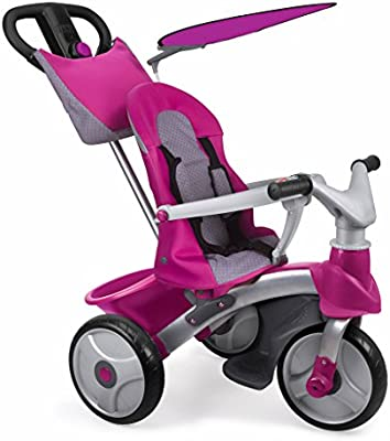 FEBER - Triciclo Baby Trike Easy Evolution, Color Rosa (Famosa ...