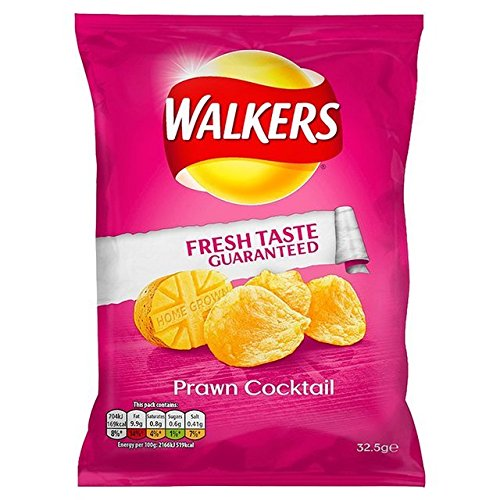(Walkers Crisps (32.5gx32) (Prawn Cocktail))