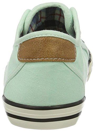 Mustang - Zapatillas para Niños-Niñas Verde (702 Lindgrün)