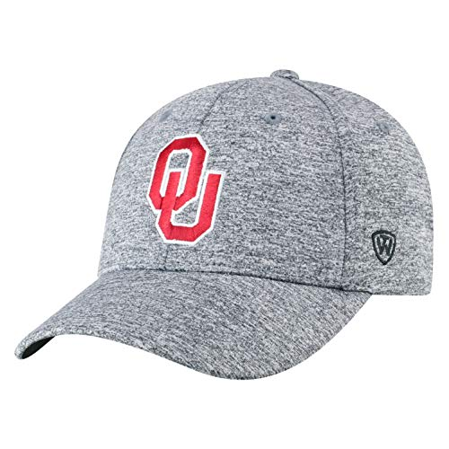 Ou Sooners - Top of the World Oklahoma Sooners Men's Hat Icon, Charcoal, Adjustable
