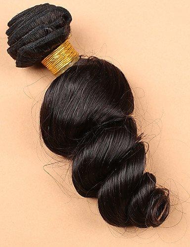 10 Jff Fermeture Cheveux Vierge Desserrent Pcs 14 La Avec side Lacets Part Extension À 12 Vague Péruvien 10 Faisceaux 4 De 14 Slove rrdwSvax