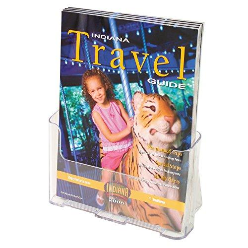 Deflecto Single Compartment Literature Holder, Magazine Size, 9-1/4 x 10-3/4 x 3-3/4 Inches (77001) Photo #3