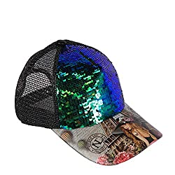 Vivian Dreams Paris Reversible Sequins with Breathable Mesh Cap