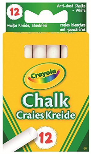 Crayola - Anti Dust White Chalk Anti Dust White Chalk