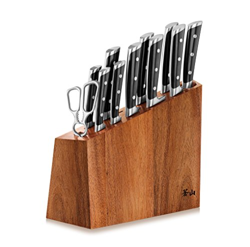 Twelve Piece Knife Set - Cangshang S Series 60140 12-Piece German Steel Forged Knife Block Set
