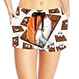 Hey Lady Your Cool Sushi Hug Short Beach Jogging Pants Is Here